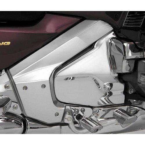 $113.77 Show Chrome Frame Cover For Honda GL1800 GL 1800 #184996