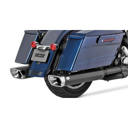 Vance & Hines Monster Squared Slip-On Dual Exhaust For Harley Touring 46851