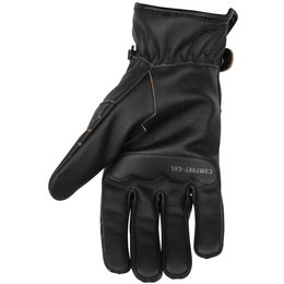 Black Brand Womens Vintage Venom Leather Gloves Black