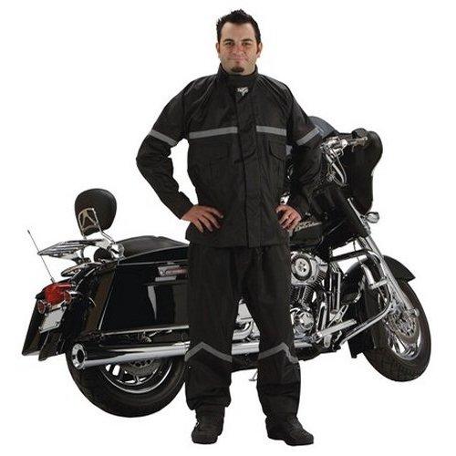 Nelson-Rigg Stormrider Rain Suit Black//Black, Small