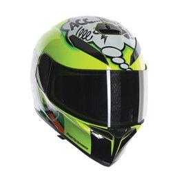 AGV K-3 SV Misano Full Face Helmet Yellow