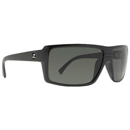 Black Gloss Vonzipper Snark Sunglasses W Grey Lens