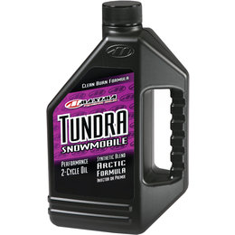 Maxima Tundra Synthetic Blend Performance 2-Cycle Snowmobile Engine Oil 1 Gallon Unpainted