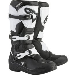 Alpinestars Mens Tech 3 MX Motocross Off-Road CE Certified Riding Boots Black
