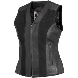 Black River Road Womens Santa Rosa Leather Vest 2014