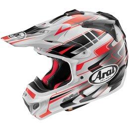 Red Arai Vx-pro4 Vxpro4 Tip Helmet