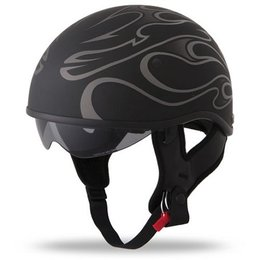 Grey Fly Racing .357 Flame Half Helmet 2013