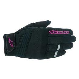 Black Alpinestars Womens Stella Asama Air Textile Gloves 2015