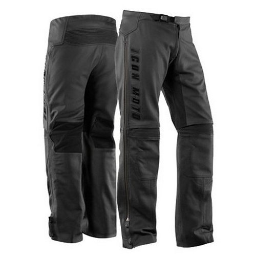 251 00 Icon Automag Leather Overpants 49399