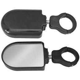 Modquad Teryx Side Mirrors Black Plain For Polaris RZR