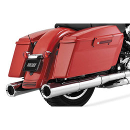 Vance & Hines Hi-Output Slip-On Dual Exhaust For Harley-Davidson Touring 16455