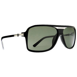 Black Gloss Vonzipper Stache Sunglasses W Grey Lens