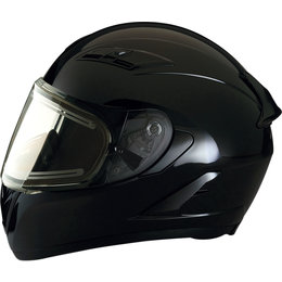 Z1R Strike Ops Snowmobile Full Face Helmet With Electric Heated Shield Black