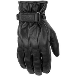 Black Brand Mens Freeway Leather Gloves