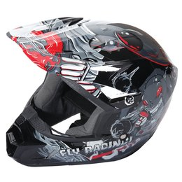 Fly Racing Youth Kinetic Invazion Helmet Grey