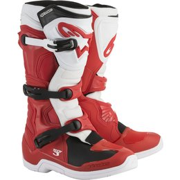 Alpinestars Mens Tech 3 MX Motocross Off-Road CE Certified Riding Boots Red