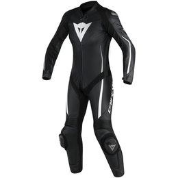 Dainese Womens Assen 1 Piece Perforated Leather Suit Black