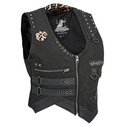 Speed & Strength Womens Iron Mistress Textile Vest 2015 Black
