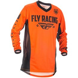 Fly Racing Mens Patrol MX Jersey Orange