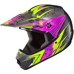 Pink Hjc Girls Cl-xy Clxy Pop N Lock Helmet