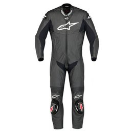 Black Alpinestars Sp-1 One Piece Leather Suit Us 54