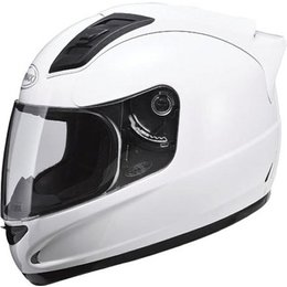 Pearl White Gmax Gm69 Full Face Helmet