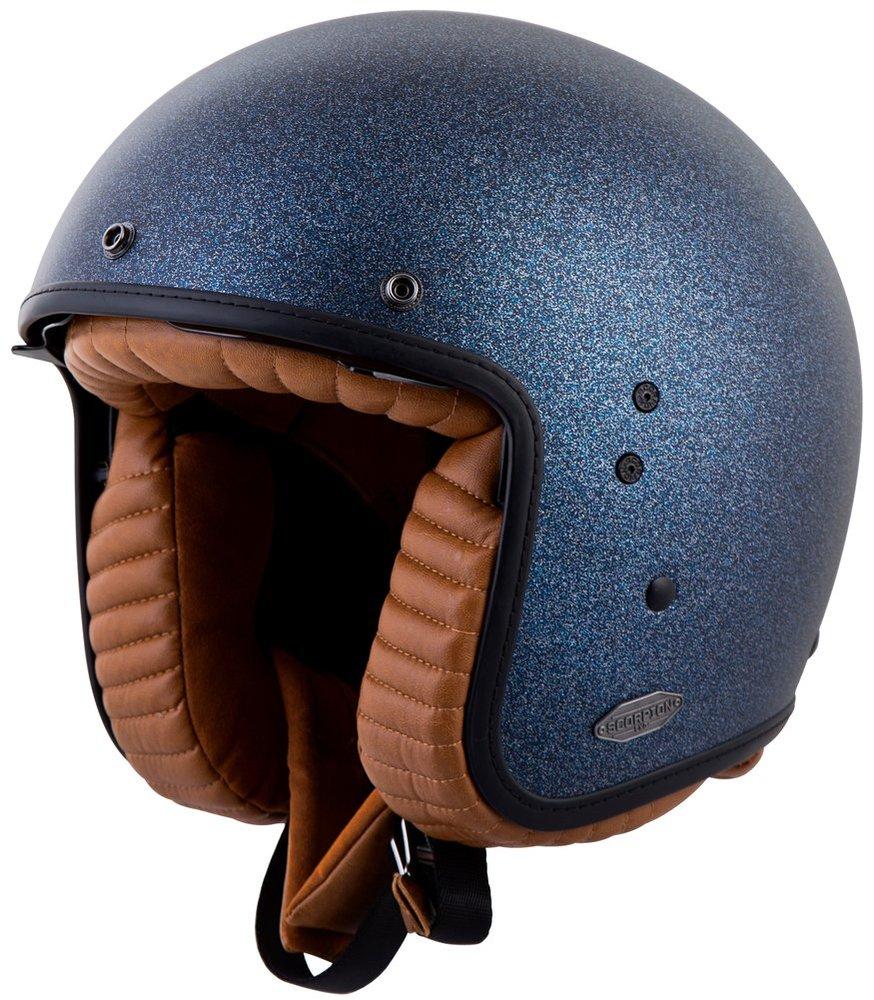 Full Face Cruiser Helmets >> $209.95 Scorpion Belfast Open Face Helmet #248860