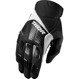 Thor Mens Rebound Textile Gloves Black