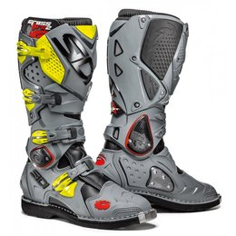 Sidi Mens Crossfire 2 TA Offroad Motocross Riding Boots Grey