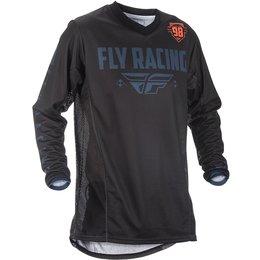 Fly Racing Mens Patrol MX Jersey Black