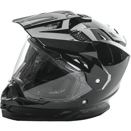 Fly Racing Trekker Dual Sport Helmet Black