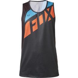 Fox Racing Mens Flexair Seca Sleeveless Tech Shirt Black