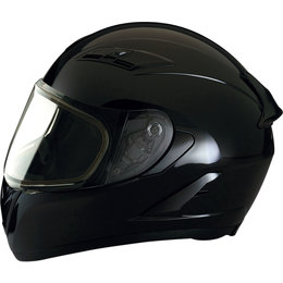Z1R Strike Ops Snowmobile Helmet With Dual Pane Shield Black