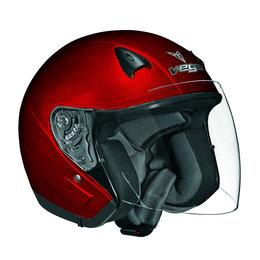Candy Red Vega Mens Nt 200 Nt200 Open Face Helmet 2013