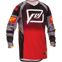 Fly Racing Mens Evolution 2.0 Code Jersey Black