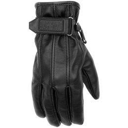 Black Brand Womens Back Road Leather Gloves