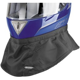 Black Schampa Shielded Helmet Skirt Fleece Lined