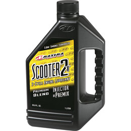 Maxima Scooter 2T Premium Blend 2-Cycle Engine Oil 1 Liter 26901 Unpainted