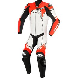 Alpinestars Mens GP Plus V2 1 Piece Leather Suit White