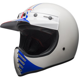 Bell Powersports Moto-3 Classic Ace Cafe GP 66 Helmet White