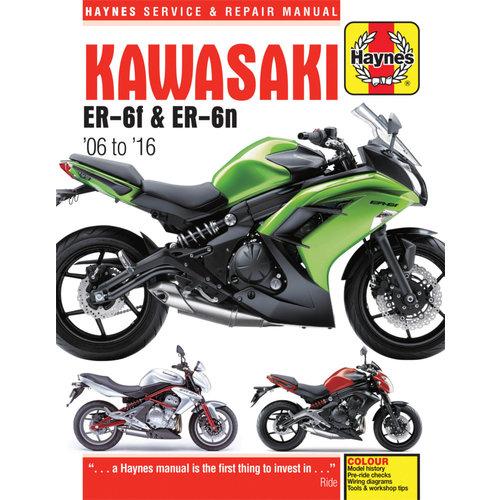 45 95 Haynes Service And Repair Manual For Kawasaki  1104635