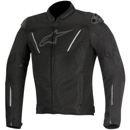 Alpinestars Mens T-GP R Air 450 Denier Armored Textile Jacket Black
