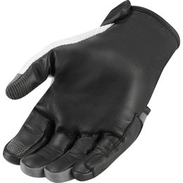 Icon Mens Overlord Textile Gloves Black