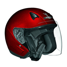 Candy Red Vega Mens Nt 200 Nt200 Open Face Helmet 2013