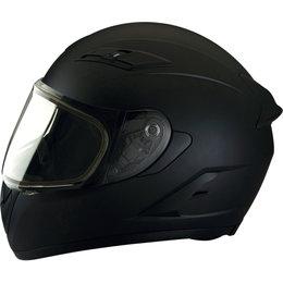 Z1R Strike Ops Snowmobile Helmet With Dual Pane Shield Black