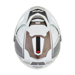 AFX FX-50 FX50 Signal Open Face Helmet Silver