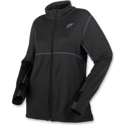 Arctiva Womens Insulator Mid-Weight Fleece Jacket Black
