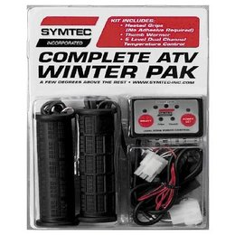 N/a Symtec Complete Winter Heated Grip Kit Atv Universal