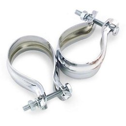 N/a Bikers Choice Muffler Clamps For Harley Flhs Flht 85-94