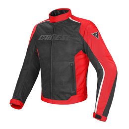 Dainese Mens Hydra Flux D-Dry Armored Textile Jacket Black